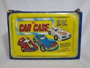Vintage Tara Toy Corp Diecast Car Carrying Case for 24 Cars 20150