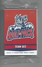 2016-17 Hartford Wolf Pack (AHL) 26 card team set