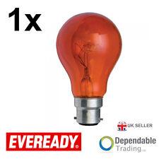 Ampoule Eveready 40w BC B22 Rouge GLS Ampoule / ERFIR40BC S854