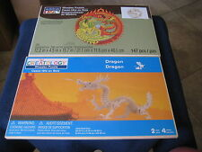 Two 3D Wooden Puzzles (ArtMinds Lucky Dragon and Phoenix) & (Creatology Dragon)