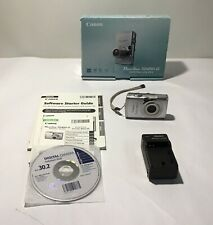 Canon PowerShot SD850 IS ELPH 8.0MP Digital Camera With Box, Battery & Charger