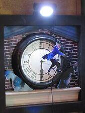 BACK TO THE FUTURE CUSTOM CLOCK WITH FLASHING LIGHT
