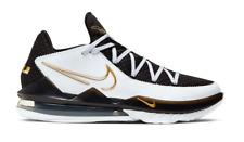 Nike LeBron 17 Low White Metallic Gold CD5007-101