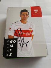 Signierte AK Mario Gomez VfB Stuttgart  NEU