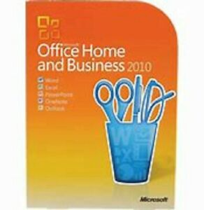 Microsoft Office Home and Business 2010 - Upgrade