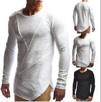 Fashion Mens Slim Fit Shirt Long Sleeve Dress Shirts Casual Shirt Tops Blouse