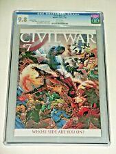 ✨ Marvel Civil War #7 CGC 9.8 2007 Michael Turner variant. Series finale!!! ✨