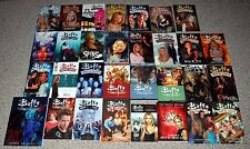 BUFFY THE VAMPIRE SLAYER 32pc Graphic Novel TPB Comic Book Lot Angel Spike