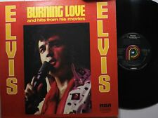 Rock Lp Elvis Presley Burning Love & Hits From His Movies Vol. 2 On Pickwick
