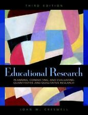 Educational Research by John W Creswell