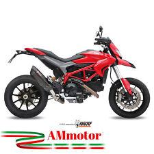 Mivv Ducati Hypermotard 821 2014 Terminale Di Scarico Marmitta Suono Black Moto