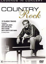 COUNTRY ROCK Legends In Concert DVD - Region Free - NEW