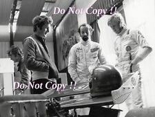 Ronnie Peterson & Henri Pescarolo March F1 Portrait 1972 Photograph
