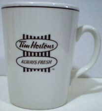 Tim Hortons Mug Store Mug Always Fresh Steelite English and French