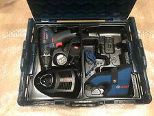 Bosch GSB 10.8-2-LI Cordless Combi Drill 2Ah Battery L-Boxx