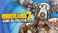 Borderlands 2 II Game of the Year Edition GOTY Steam Key (PC) - Region Free