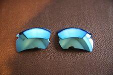 Polarlenz Polarized Ice Blue Lenti di Ricambio per Oakley Flak Jacket 2.0 XL