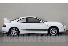 TOYOTA CELICA SIDE STRIPES (PAIR) CAR DECALS GRAPHICS