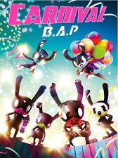 B.A.P [CARNIVAL] 5th Mini Album Special CD+POSTER+Photobook+Card+Stand Photo BAP