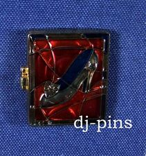 Dlr Cinderella Hinged Stained Glass Disney Pin 48427
