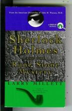 SHERLOCK HOLMES AND THE RUNE STONE MYSTERY by Millett, Penguin crime vintage pb