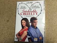 * NEW SEALED DVD Film * INTOLERABLE CRUELTY * DVD Movie * A COEN BROTHERS FILM