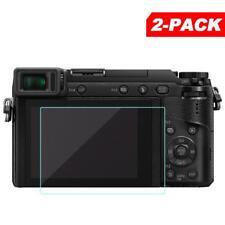 2x Tempered Glass Screen Protector for Panasonic GX85 GX80 GX7II G8 G7 LX10 LX15