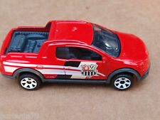 2013 Matchbox VOLKSWAGEN SAVEIRO CROSS 89/120 MBX Explorers LOOSE Red