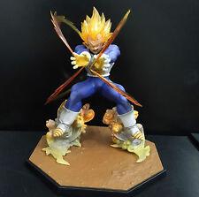 Bandai Dragonball Z Super Saiyan SS VEGETA Figure Statue loose  #DVE2