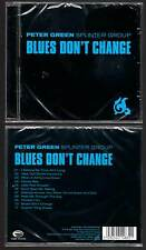 "PETER GREEN SPLINTER GROUP ""Blues Don't Change"" (CD) 2001 NEUF"