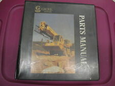 GROVE RT880 Crane Illustrated PARTS Manual  CAT 3306 T-DI  05/1998