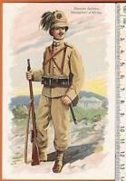 Cartolina Militare - Bersaglieri d'Africa - 7071