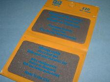 EZE LAP 220 Credit Card Fine 201 & Coarse 203 Diamond Sharpening Wallet Stone