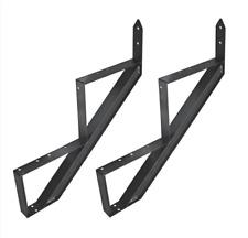 Metalltreppe Außentreppe Aluminium Treppenrahmen 2 - 6 Trittstufen
