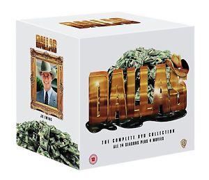 DALLAS COMPLETE SERIES SEASON 1-14 + 4 MOVIES DVD BOXSET 105 DISCS NEW & SEALED