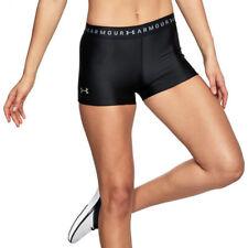 Under Armour UA HeatGear Armoury Shorty Ladies Compression Sports Gym Shorts