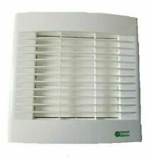 """Kitchen Wall Extractor Fan 6"""" 150mm With Pullcord & Automatic Shutters Airvent"""