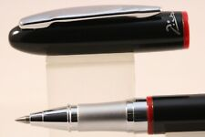 Picasso No. 907 Lacquered Black Rollerball Pen with Chrome Trim
