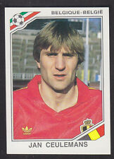 Panini - Mexico 86 World Cup - # 140 Jan Ceulemans - Belgique