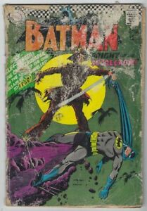 DC Batman #189 1967 Silver Age Comic Book 1st Scarecrow Appearance