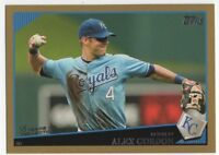 2009 TOPPS GOLD BORDER #145 ALEX GORDON   /2009