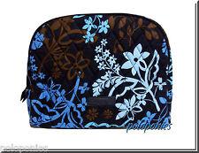 VERA BRADLEY Large Zip Cosmetic - Java Floral Pattern NWT