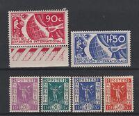 FRANCOBOLLI 1936 FRANCIA ESPOSIZIONE INTERNAZIONALE MNH/MLH Z/4401