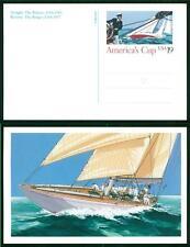 USA - STATI UNITI - Intero postale - 1992 - America' Cup designed by Ken Hodges