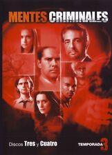 PELICULA DVD SERIE TV MENTES CRIMINALES TEMPORADA 3