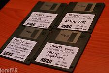 KORG TRINITY Serien Super Musik 4er Packung Festplatten HD Orchester mega