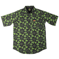 Santa Cruz x TMNT Teenage Mutant Ninja Turtles Cowabunga Button Up Shirt