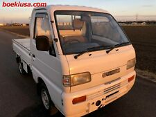 Japanese Mini Truck 1993 Suzuki Carry 4x4 RoadLegal ATV UTV Pickup at No Reserve
