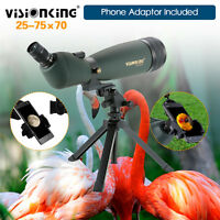 Visionking 30-90x90 Spotting Scope Monocular Telescope W/Phone Adaptor Fr Huting