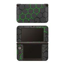 Nintendo NEW 3DS XL Aufkleber Skin Klebefolie Schutzfolie Sticker Exo Green